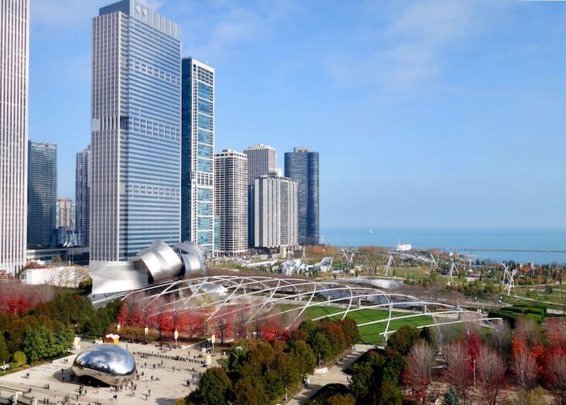Millennium Park in Chicago's Loop.