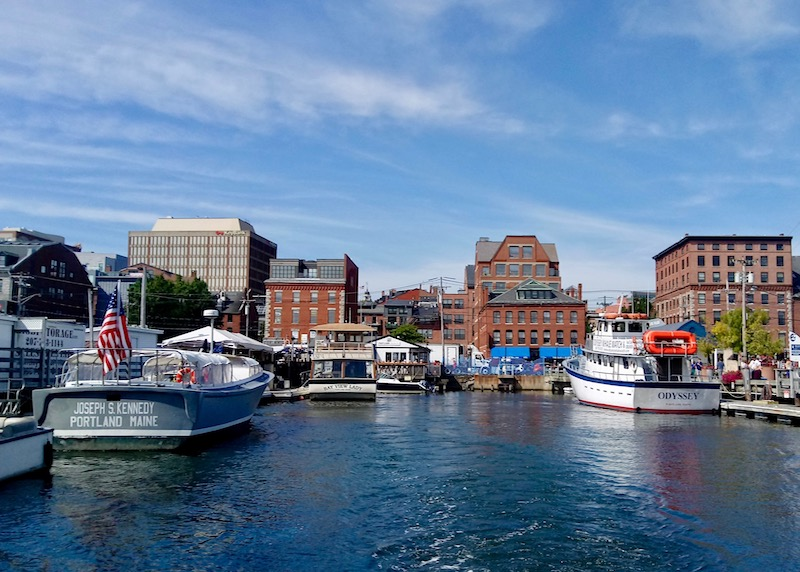 The Old Port of Portland, Maine