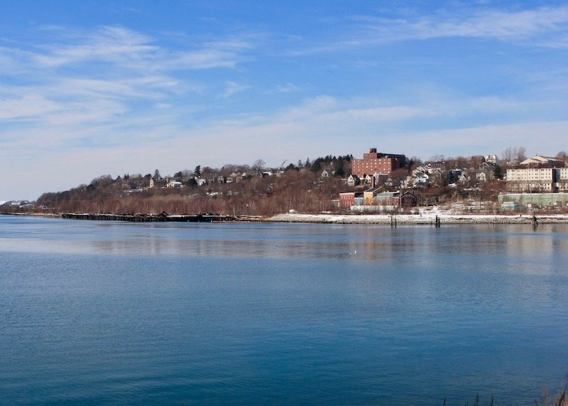 View of Portland, Maine's West End