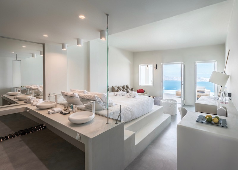Inside a Superior Pool Suite at West East Suites