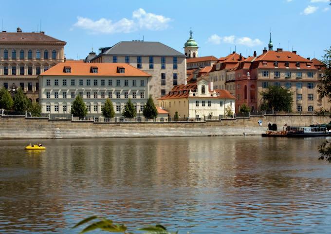 The Four Seasons Hotel in Prague.