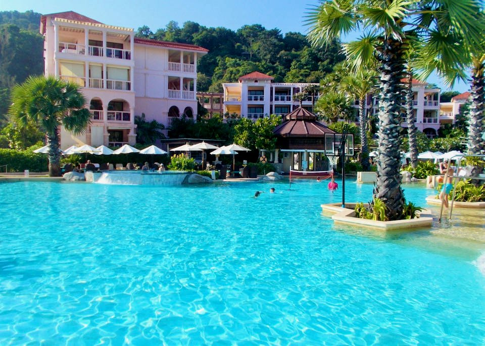 Best place to stay with kids and family in Phuket.
