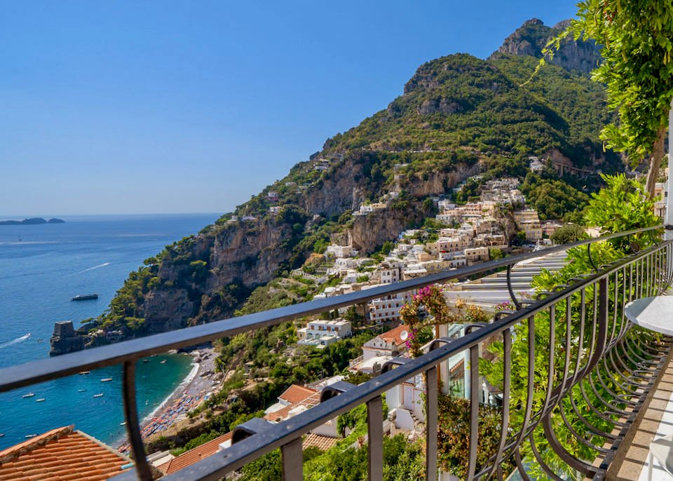 Best hotel with view in Positano.