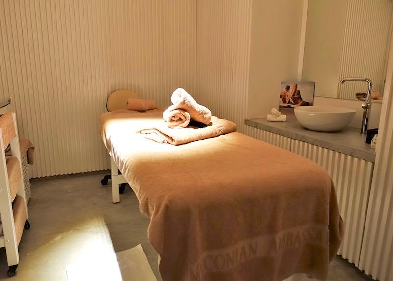 Spa room at Myconian Ambassador in Platis Gialos