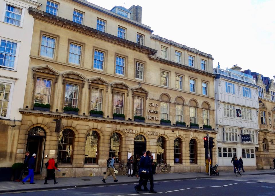 Best 5-Star Hotel in Oxford, England.