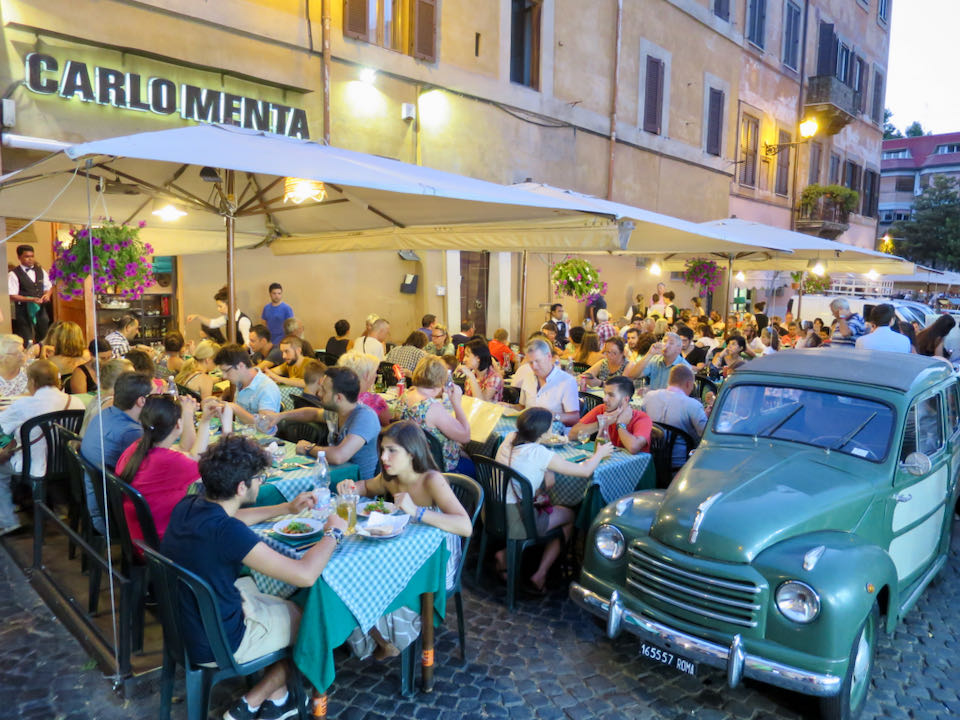 Best area in Rome to stay for first time visitors.