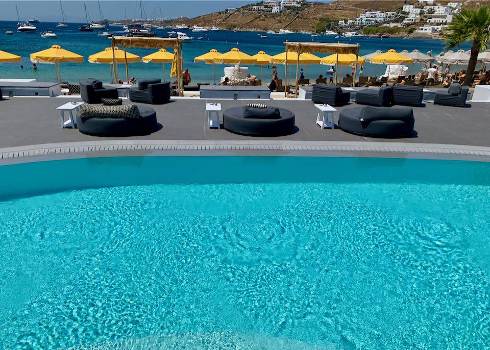 Best Mykonos Beach Hotel on Ornos