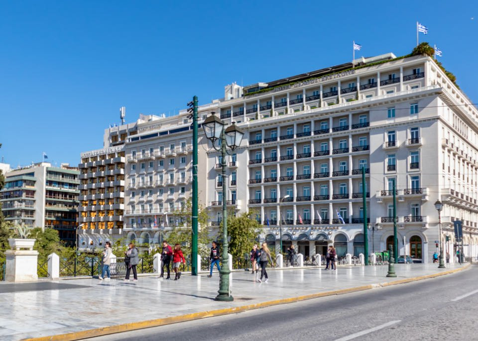 Best place to stay in central Athens.
