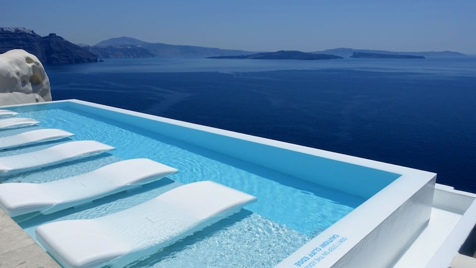 Canaves Suites in Oia, Santorini.