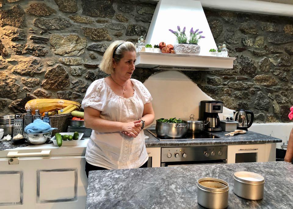 Best Greek Cooking Class in Mykonos