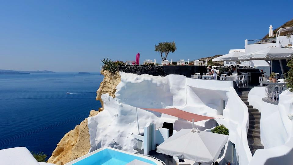 Andronis Luxury Suites in Oia, Santorini.
