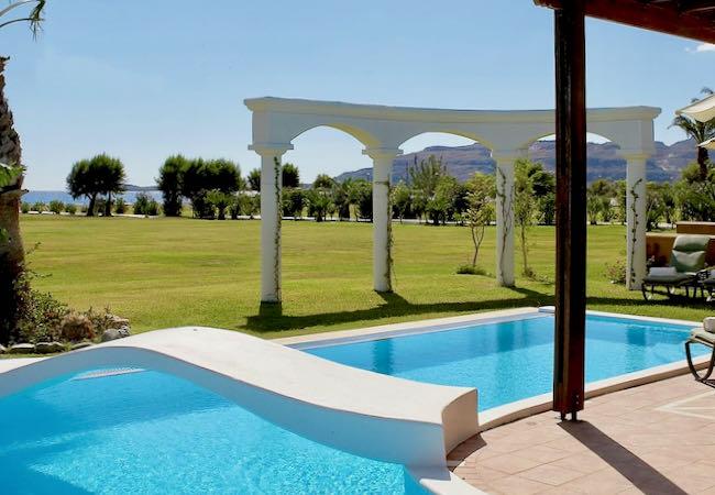 Luxury resort in Rhodes.