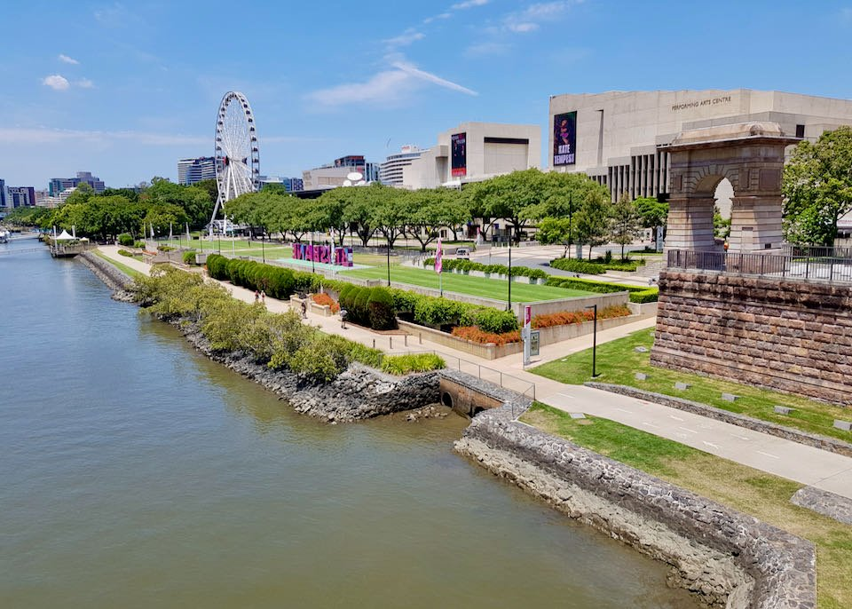 South Bank is a great leisure and culture precinct.