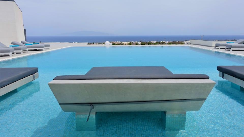 Myst Hotel in Santorini.