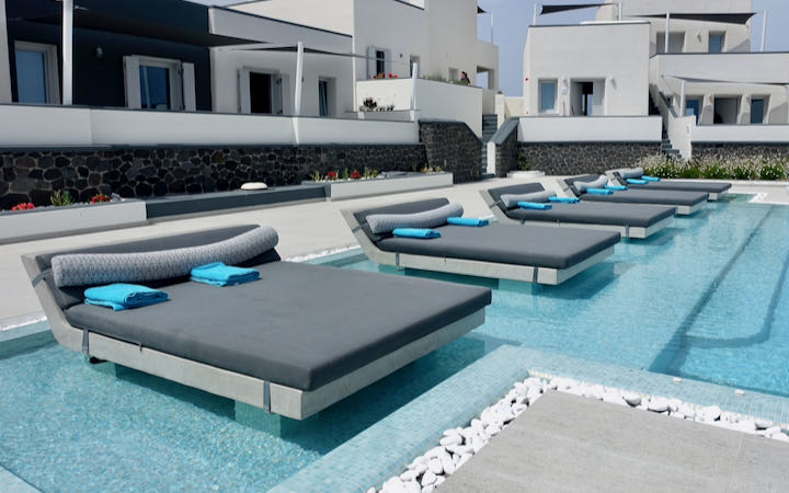 Pool at Myst Boutique Hotel.