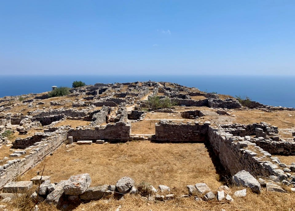 Archaeological Site of Ancient Thera