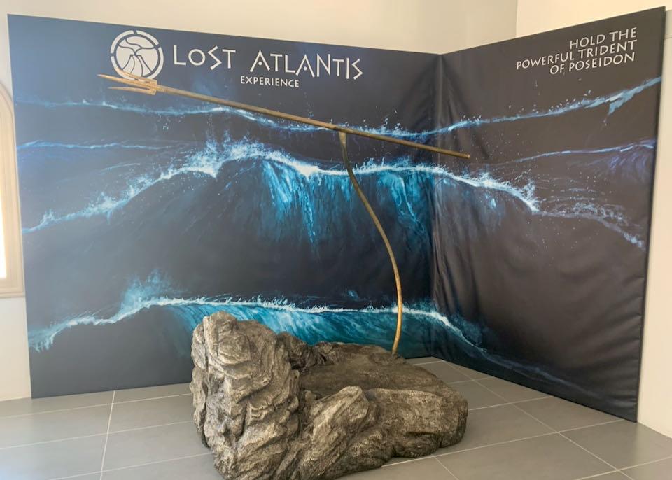 Lost Atlantis Museum exhibits