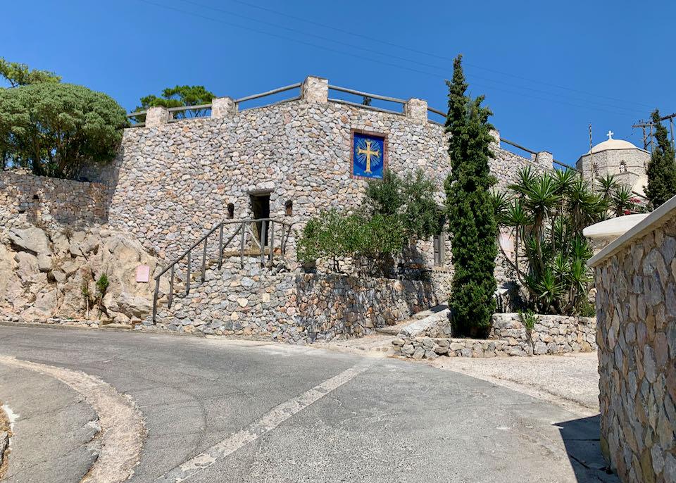 Profitis Ilias Monastery in Pyrgos
