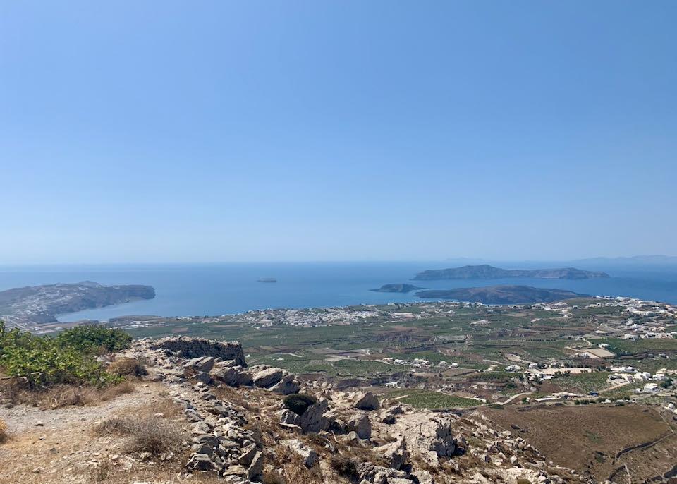 Profitis Ilias Monastery view