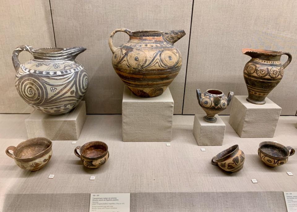 Museum of Prehistoric Thera - Exhibits