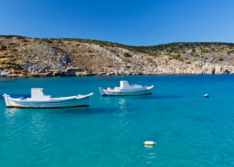 Best boat tours in Naxos.