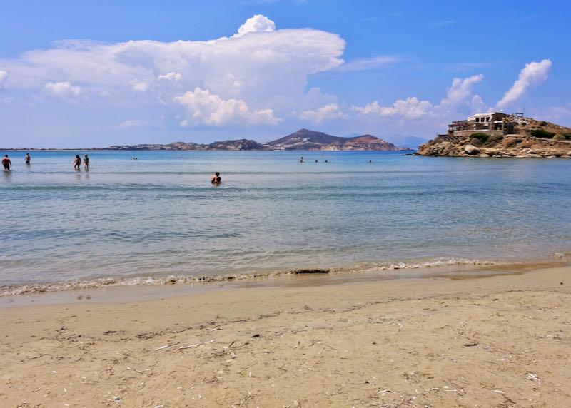 Views from Agios Georgios beach