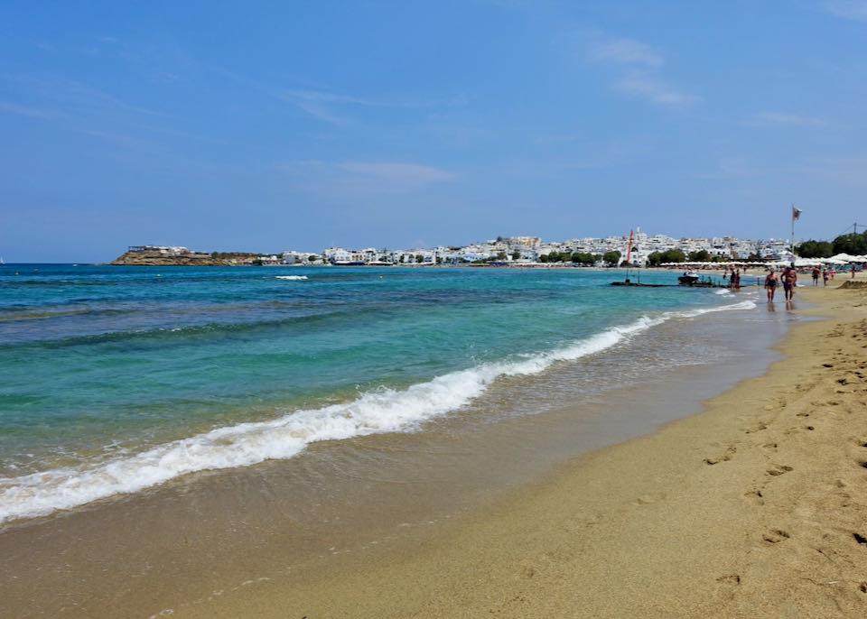 Agios Georgios Beach in Naxos
