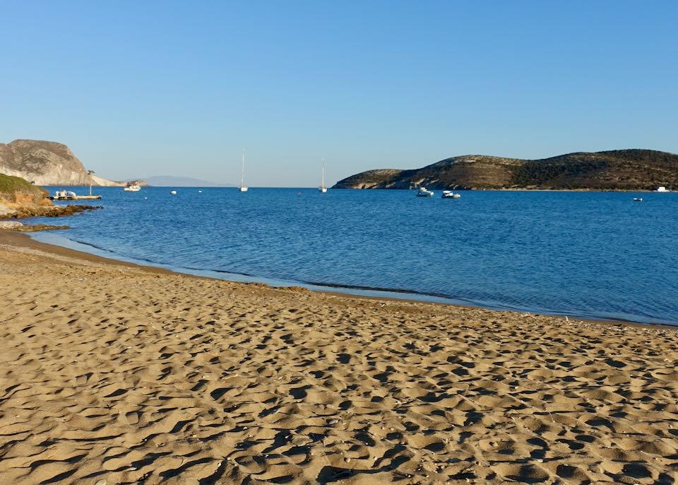 Vathis Volos beach in Antiparos