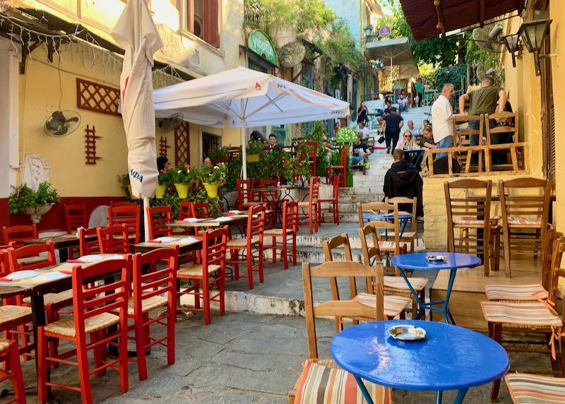 Geros Tou Moria restaurant outdoor seating