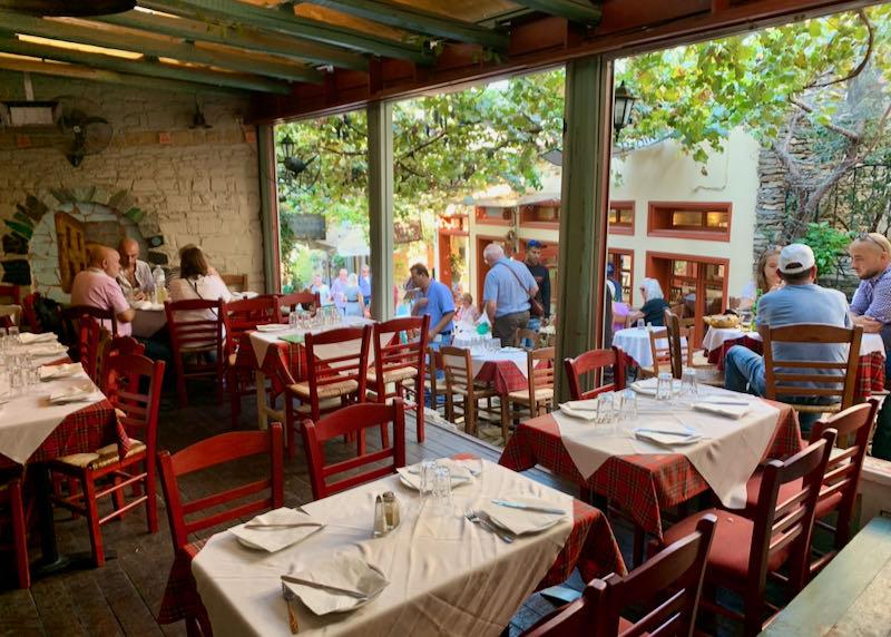 Geros Tou Moria restaurant building
