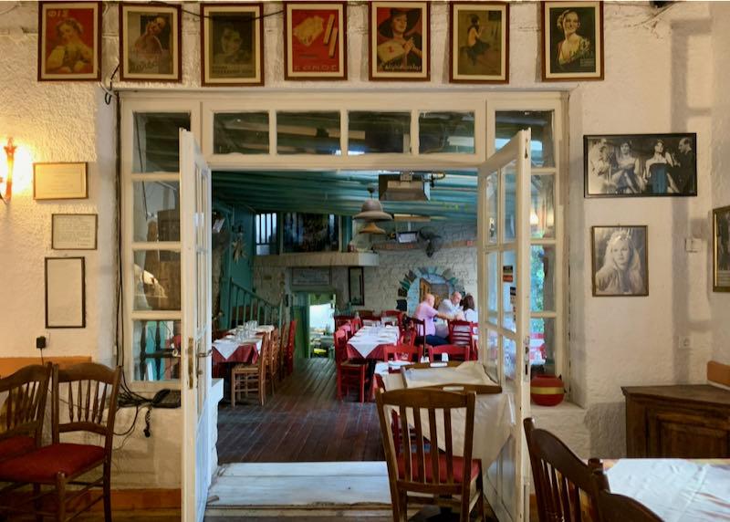 Geros Tou Moria restaurant second building