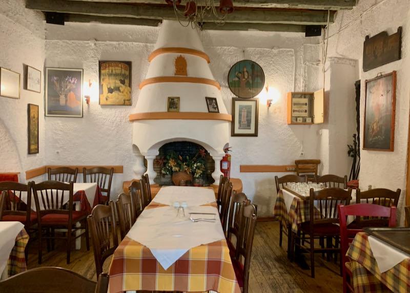 Geros Tou Moria restaurant dining area
