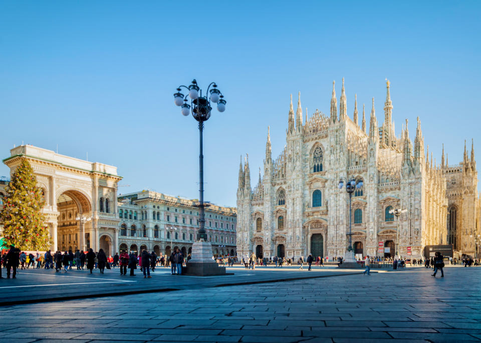 Best places to stay near Duomo in Milan, Italy.