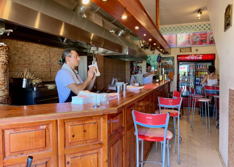 Lucky's Souvlaki restaurant